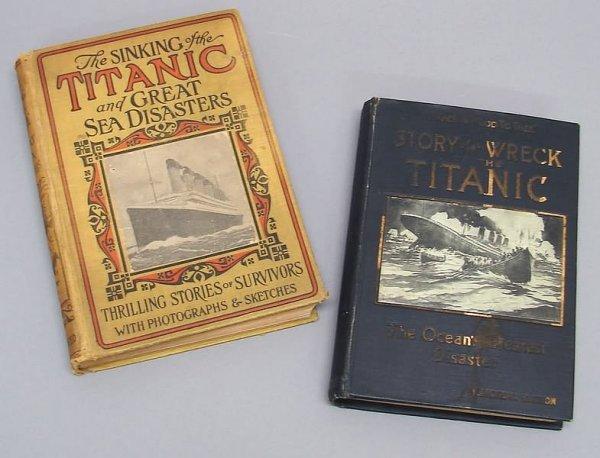 2016: Pair of Titanic Books