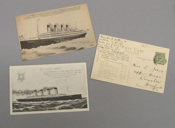 2021: 3-Titanic Postcards