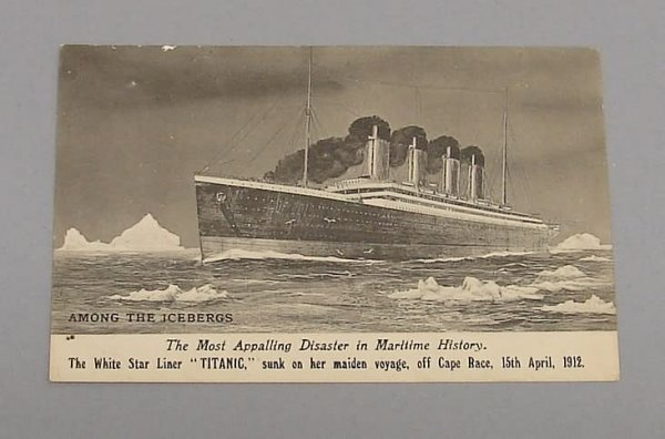 2022: Titanic Postcard