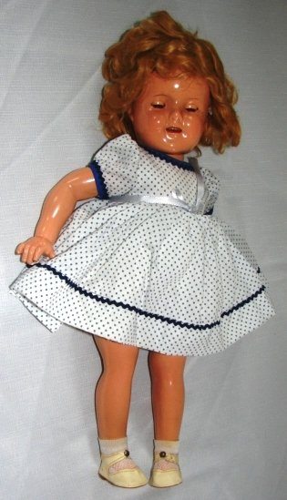 7004: Shirley Temple Composition Doll