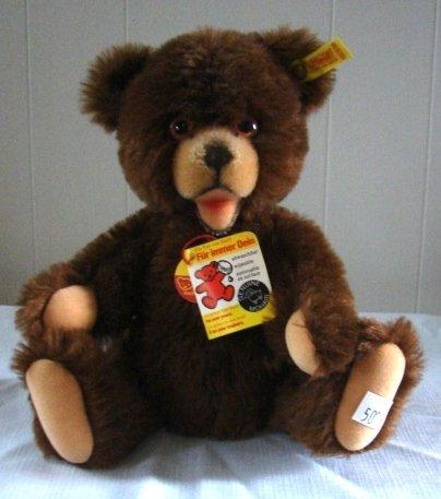 "7008: Original Steiff 10"" Teddy Bear"