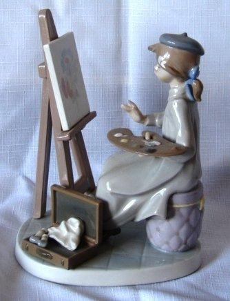 7017: Lladro Figure - L#5363 - Still Life