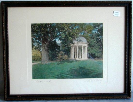 7215: Wallace Nutting-A Garden Temple, Montibello VA