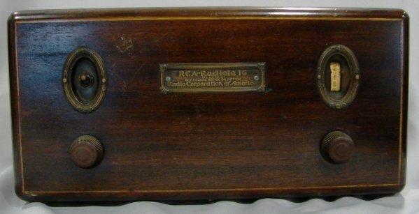 1003: RCA-Radiola Model 16 Radio Receiver