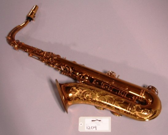 1204: Selmer, Paris Tenor Saxophone with case