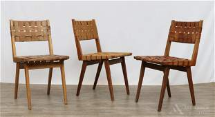 Jens Risom for Knoll Webbed Side Chairs