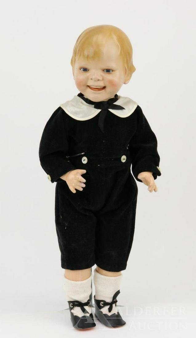 ANTIQUE GERMAN BISQUE DOLL: GLADDIE.