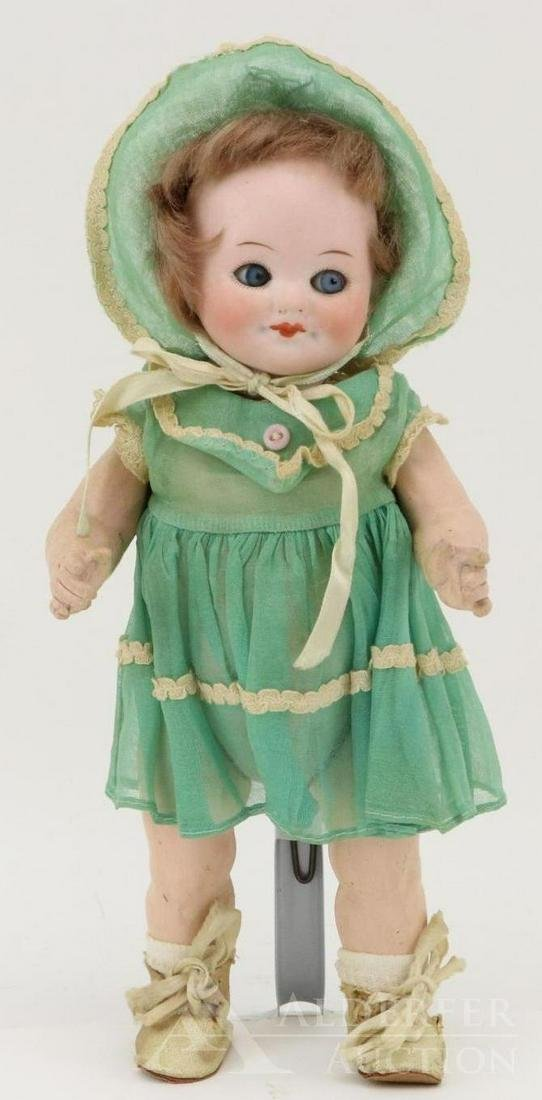 ANTIQUE GERMAN BISQUE DOLL.