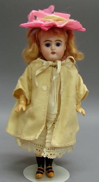 "5007: 9""  192 5/0 Bisque Walking Doll"