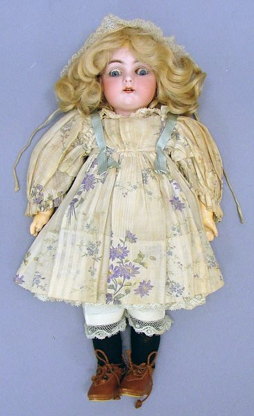 "5008: 10""  128 German Bisque Doll"