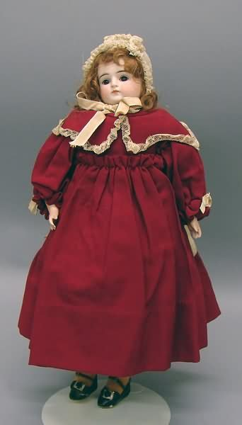 "5021: 16"" D Made in Germany Turned Head Doll"