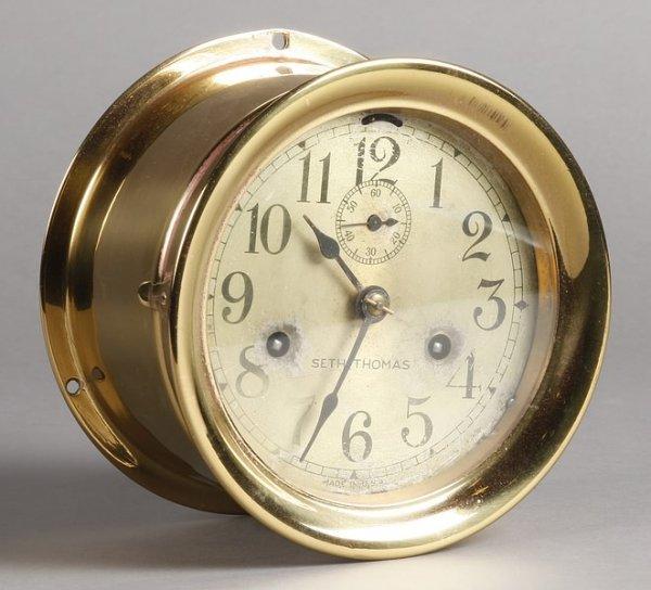 1002: Seth Thomas Ship's Clock
