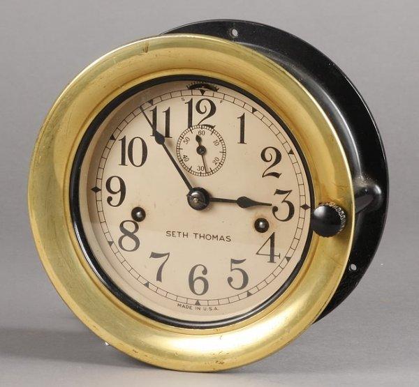 1005: Seth Thomas Deck Clock