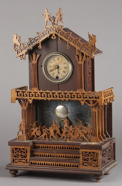 1008: Fret Work Clock