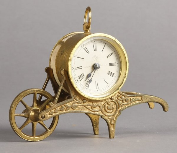 1012: Ansonia Barrow Novelty Timepiece