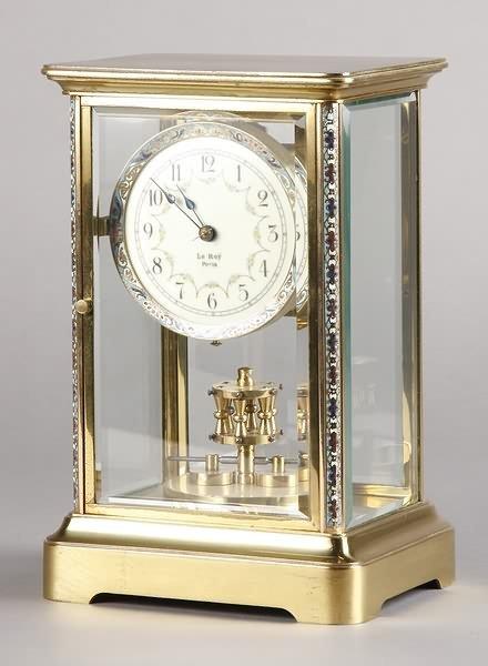 1021: French Anniversary Clock