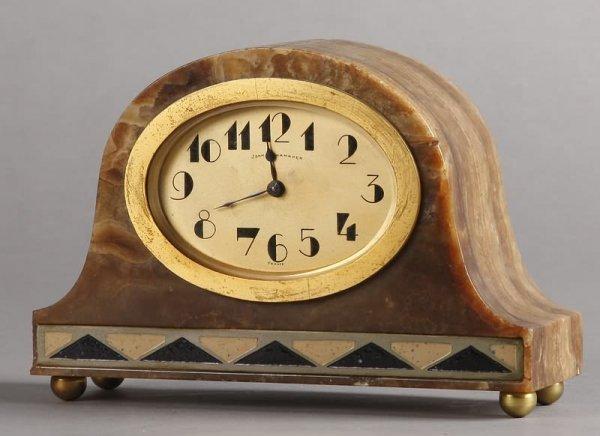 1022: Art Deco Desk Clock