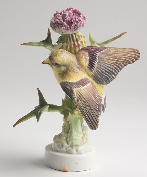 2003: Dorothy Doughty Goldfinch Cock and Thistle