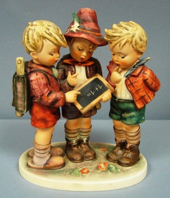 8795: Hummel Figure-School Boys #170 Size I TMK3