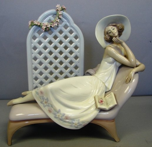 8807: Lladro Figure-Garden of Dreams #G7634 Limited Ed.