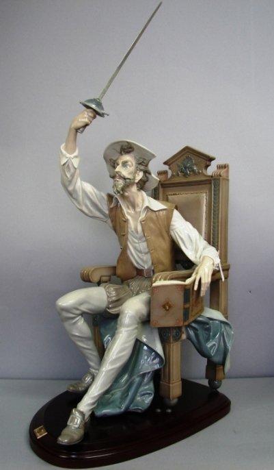 """8811: Lladro-I Am Don Quixote w/ base #G1522, 21.5"""""""