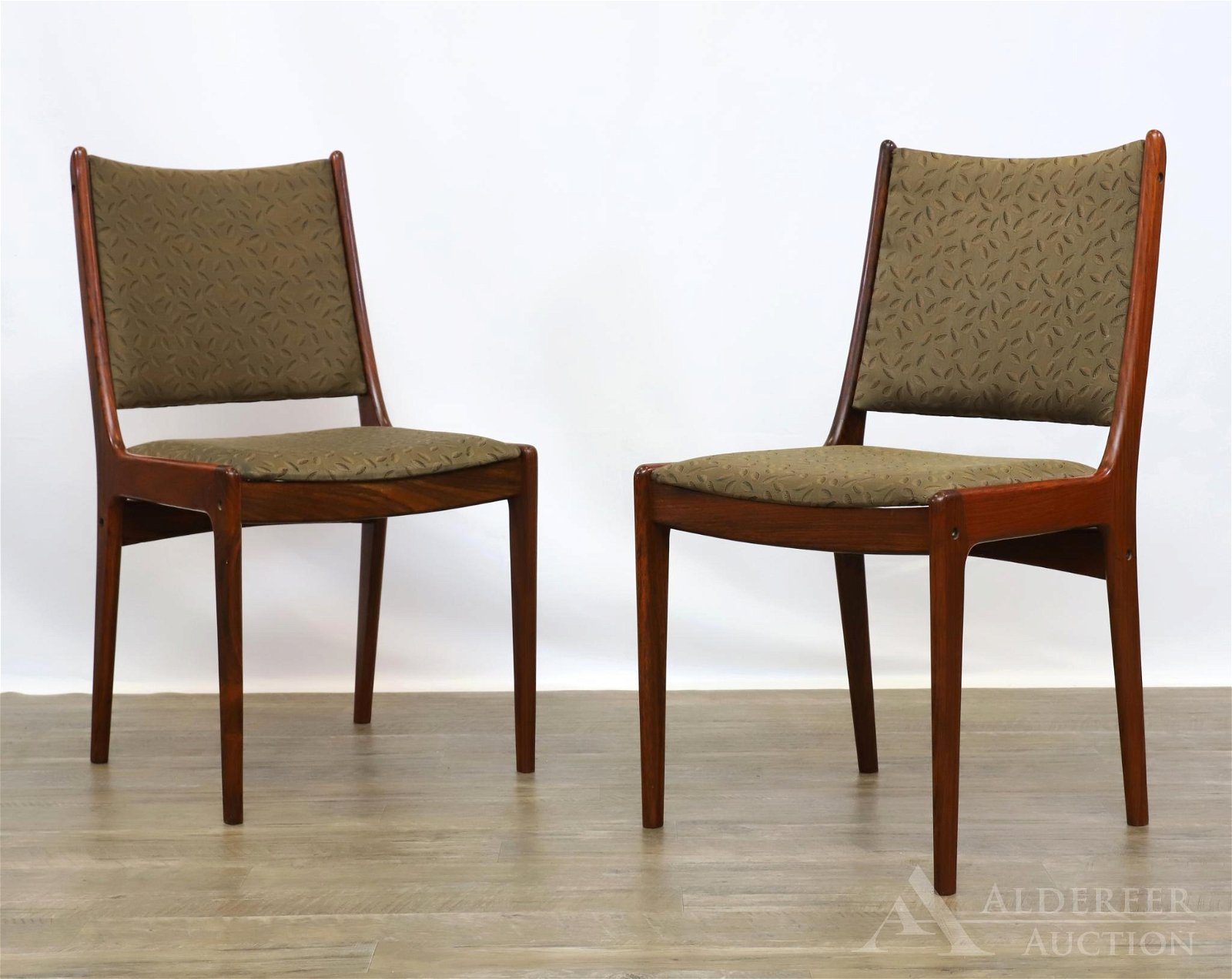 Pair of Johannes Anderson Danish Rosewood Side Chairs
