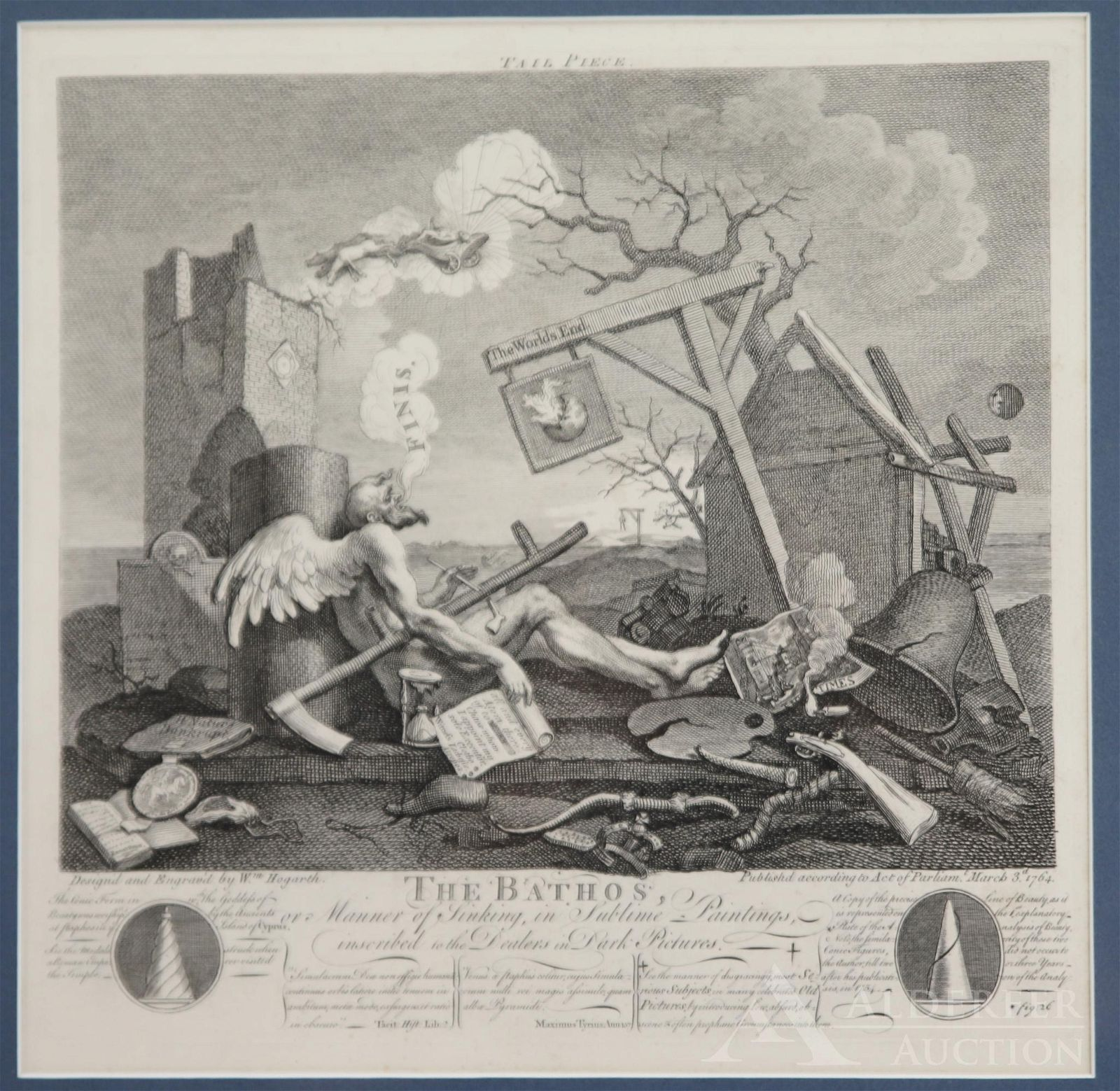 Copperplate Etching by William Hogarth