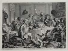 Copperplate Etching by William Hogarth