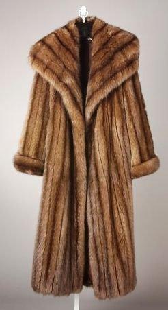 3532: Full Length Imperial Sable Fur Coat