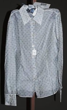3912: Giorgio Armani White Silk LS Blouse (12)