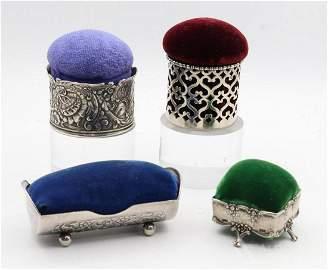 Silver Pincushions, Tiffany