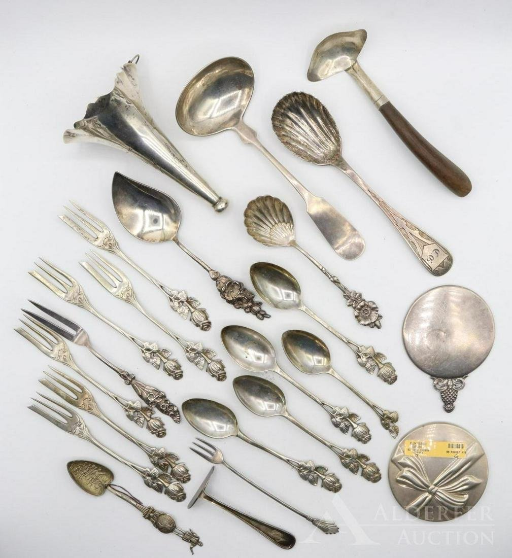 Sterling and .800 Silver Spoons