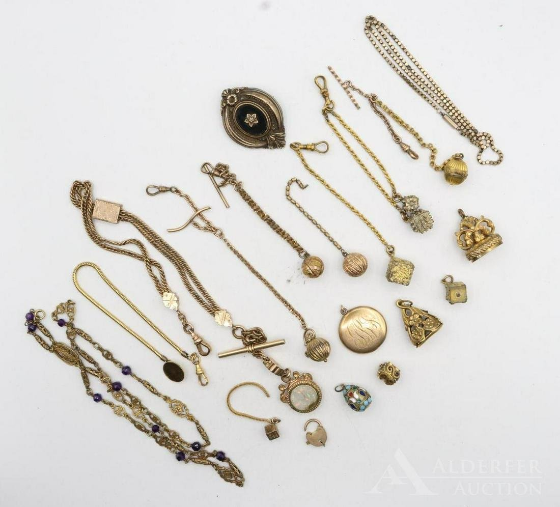 Victorian Watch Fobs