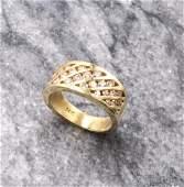 14KY Gold Diamond Ring