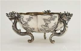 Wang Hing Chinese Export Silver Bowl