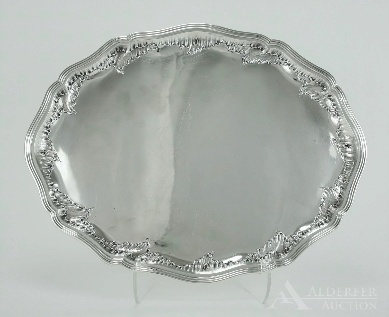 German Sterling Silver Tray