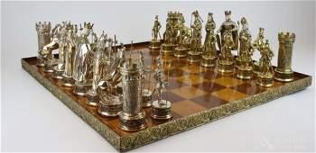 German Sterling Silver Chess Set