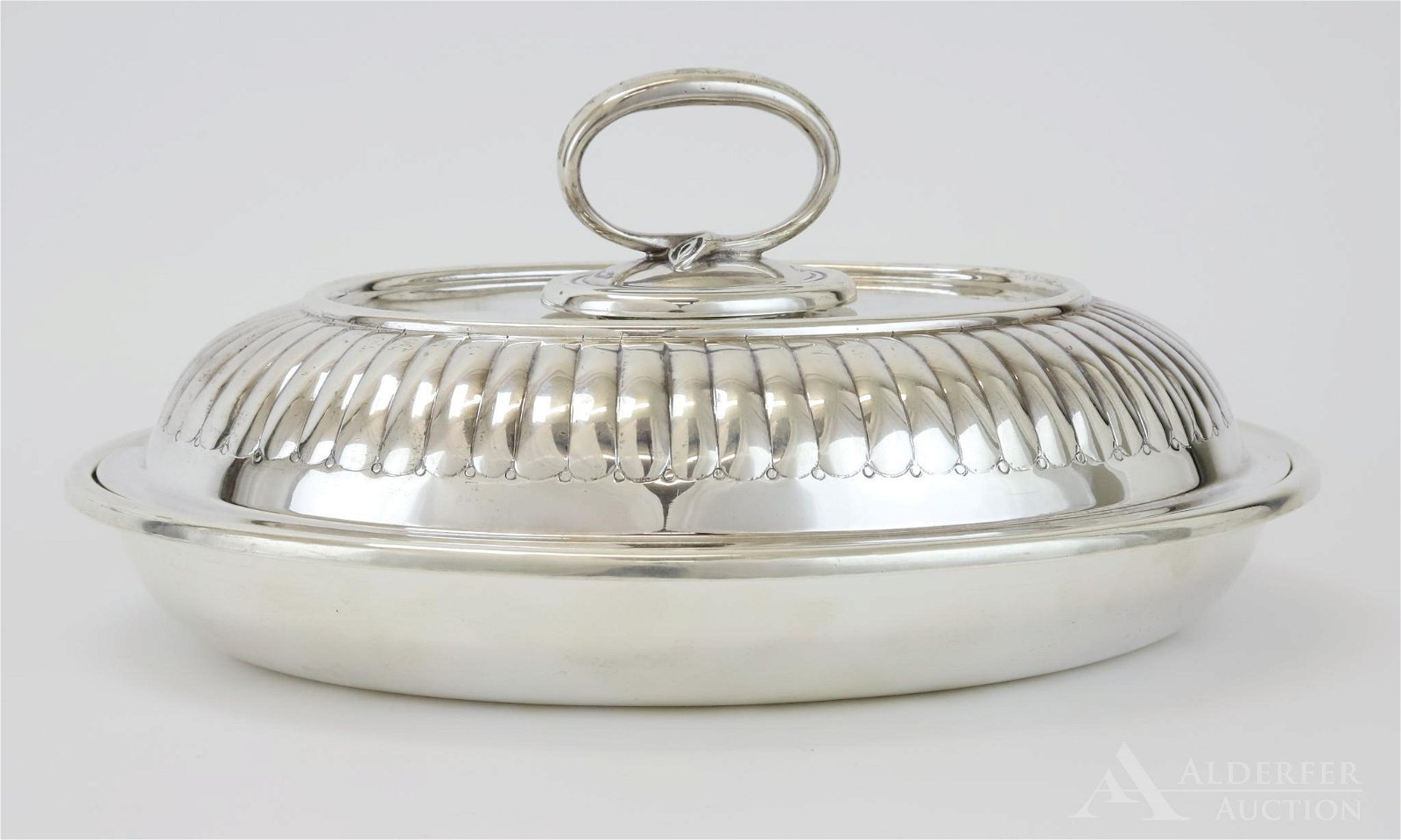 Sterling Silver Covered Vegetable
