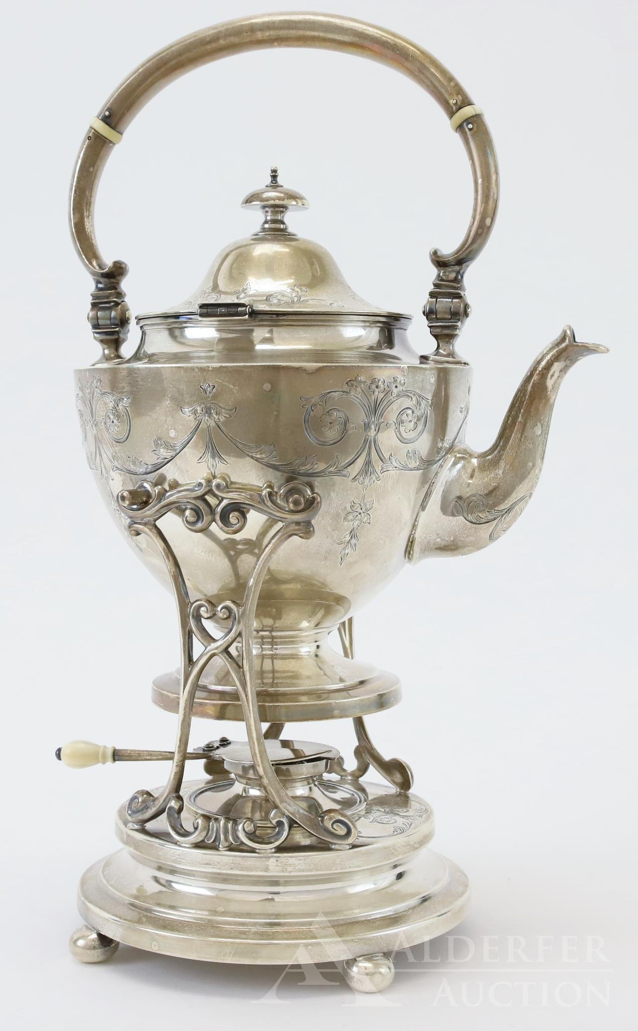 Gorham Sterling Silver Hot Water Pot