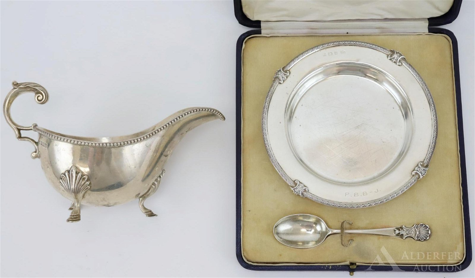 Mappin & Webb English Sterling Silver