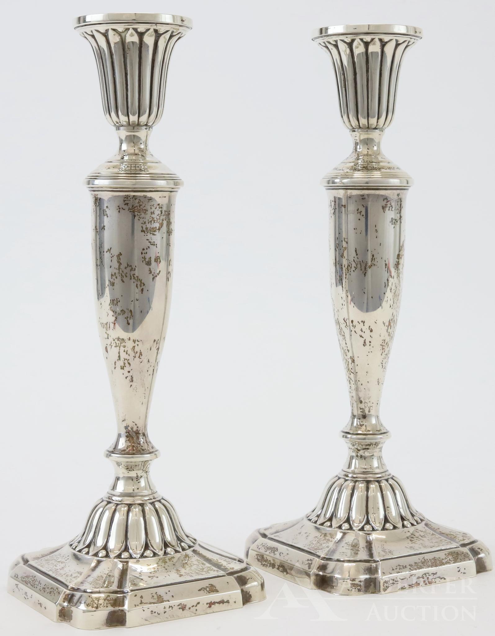 Sterling Silver Candlesticks