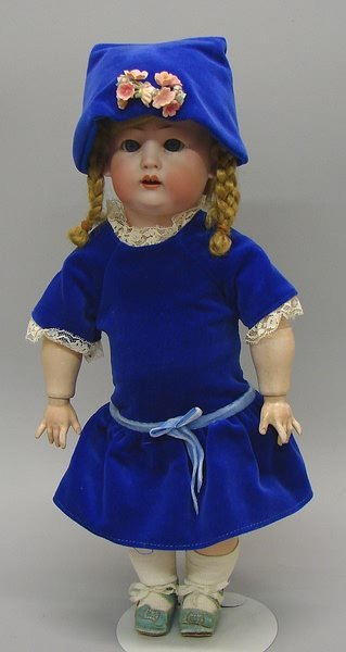 "7003: 14"" K&W 1070 Character Toddler/Bisque, German"