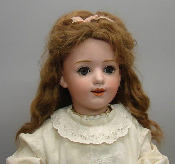 "7011: 24"" 11 1/2 Heubach Sunrise Doll/Bisque, German"