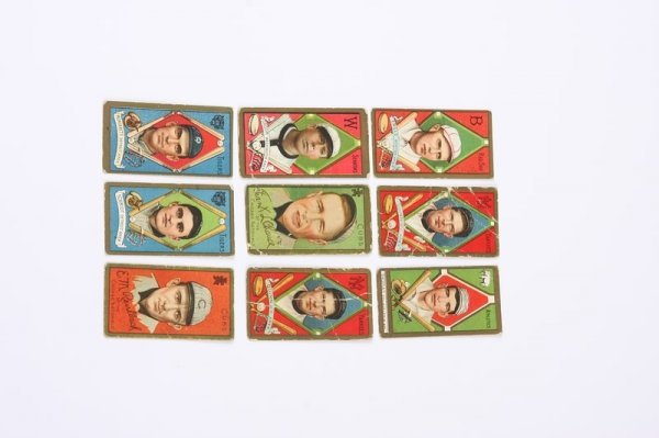 2002: Grouping of T-205 Baseball Cards