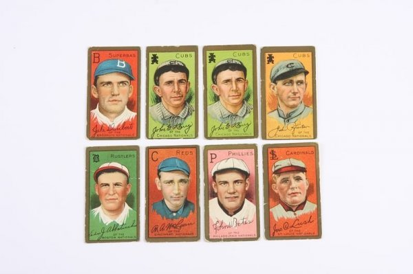 2004: Grouping of T-205 Baseball Cards