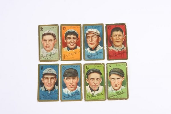 2006: Grouping of T-205 Baseball Cards