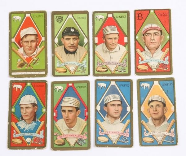 2007: Grouping of T-205 Baseball Cards