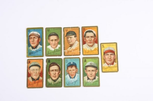 2008: Grouping of T-205 Baseball Cards