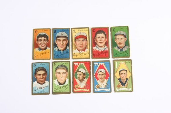 2009: Grouping of T-205 Baseball Cards