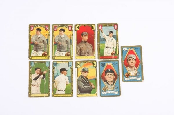 2010: Grouping of T-205 Baseball Cards